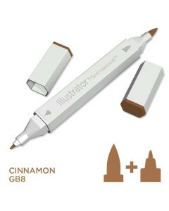 Illustrator by Spectrum Noir Single Pen - Cinnamon