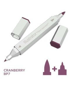 Illustrator by Spectrum Noir Single Pen - Cranberry