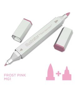 Illustrator by Spectrum Noir Single Pen - Frost Pink