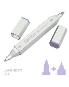 Illustrator by Spectrum Noir Single Pen - Lavender