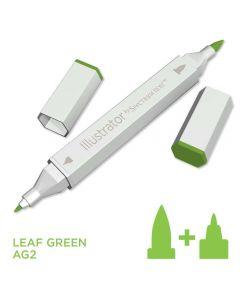 Illustrator by Spectrum Noir Single Pen - Leaf Green
