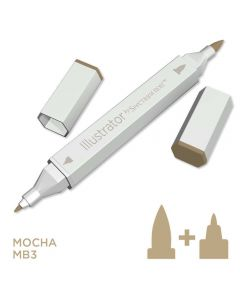 Illustrator by Spectrum Noir Single Pen - Mocha