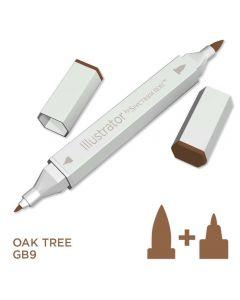 Illustrator by Spectrum Noir Single Pen - Oak Tree