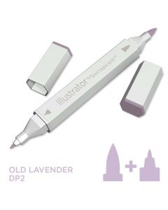 Illustrator by Spectrum Noir Single Pen - Old Lavender