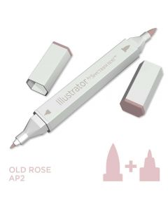 Illustrator by Spectrum Noir Single Pen - Old Rose