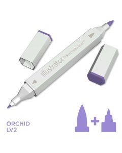 Illustrator by Spectrum Noir Single Pen - Orchid
