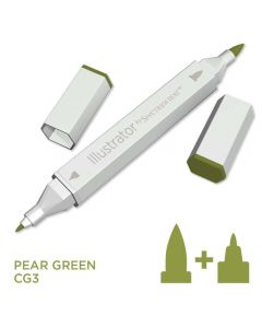Illustrator by Spectrum Noir Single Pen - Pear Green