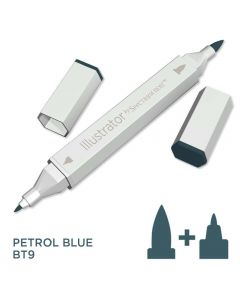 Illustrator by Spectrum Noir Single Pen - Petrol Blue