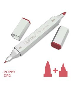 Illustrator by Spectrum Noir Single Pen - Poppy