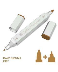 Illustrator by Spectrum Noir Single Pen - Raw Sienna