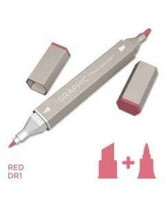 Graphic by Spectrum Noir Single Pens - Red