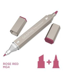 Graphic by Spectrum Noir Single Pens - Rose Red