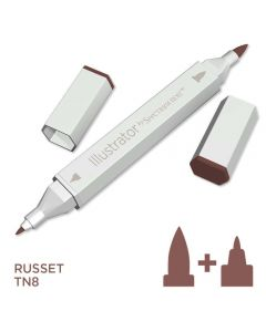 Illustrator by Spectrum Noir Single Pen - Russet
