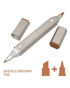 Graphic by Spectrum Noir Single Pens - Saddle Brown