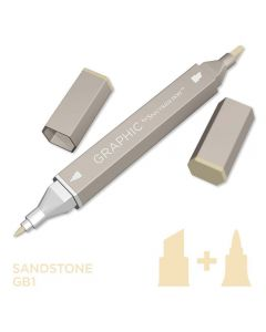 Graphic by Spectrum Noir Single Pens - Sandstone