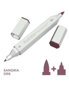 Illustrator by Spectrum Noir Single Pen - Sangria