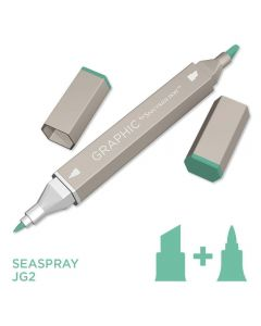Graphic by Spectrum Noir Single Pens - Seaspray