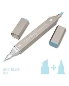 Graphic by Spectrum Noir Single Pens - Sky Blue