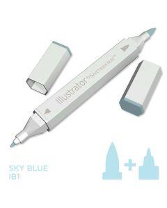 Illustrator by Spectrum Noir Single Pen - Sky Blue