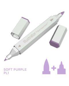 Illustrator by Spectrum Noir Single Pen - Soft Purple