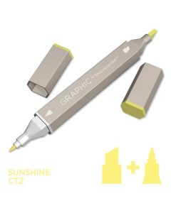 Graphic by Spectrum Noir Single Pens - Sunshine