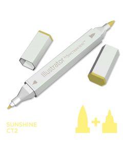 Illustrator by Spectrum Noir Single Pen - Sunshine