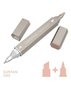 Graphic by Spectrum Noir Single Pens - Suntan