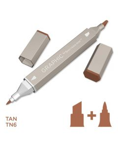 Graphic by Spectrum Noir Single Pens - Tan