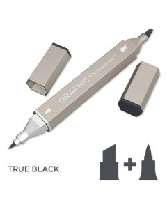 Graphic by Spectrum Noir Single Pens - True Black