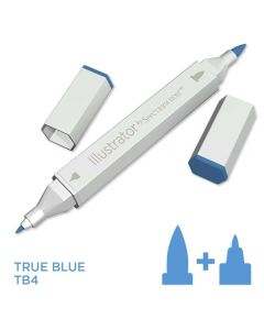 Illustrator by Spectrum Noir Single Pen - True Blue