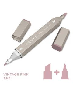 Graphic by Spectrum Noir Single Pens - Vintage Pink