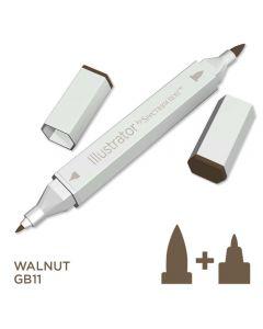 Illustrator by Spectrum Noir Single Pen - Walnut