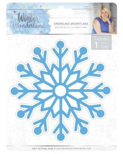 Sara Signature Winter Wonderland Metal Die - Sparkling Snowflake