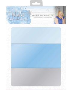 Sara Signature Winter Wonderland - Luxury Matt Mirror Card