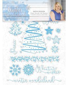 Sara Signature Winter Wonderland - Clear Acrylic Stamp - Snow Season