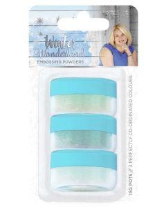 Sara Signature Winter Wonderland - Embossing Powders (3pk)