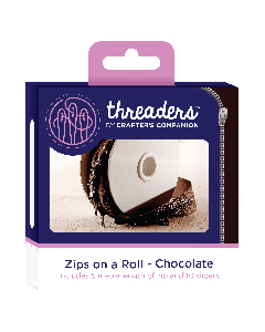 Zips on a Roll - Chocolate thumb