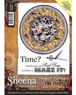 Sheena Douglass Perfect Partners Time Traveller A6 Rubber Stamp Set - Make Time