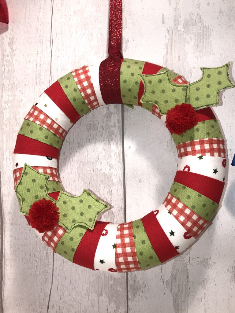 Scrappy Wrapped Wreath Crafters Companion