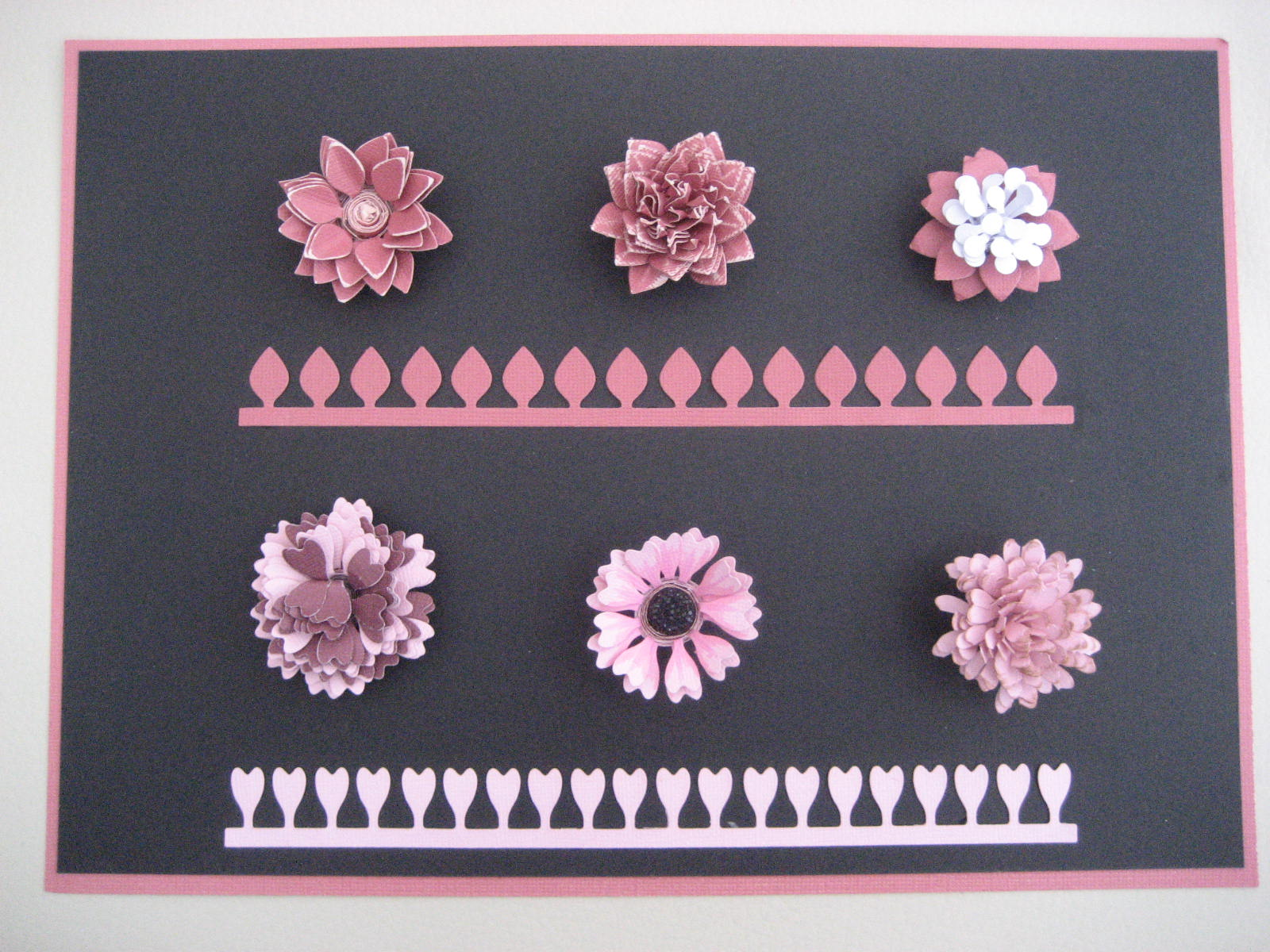 Crafters Companion Die'sire Quilling Die Camelia Large New