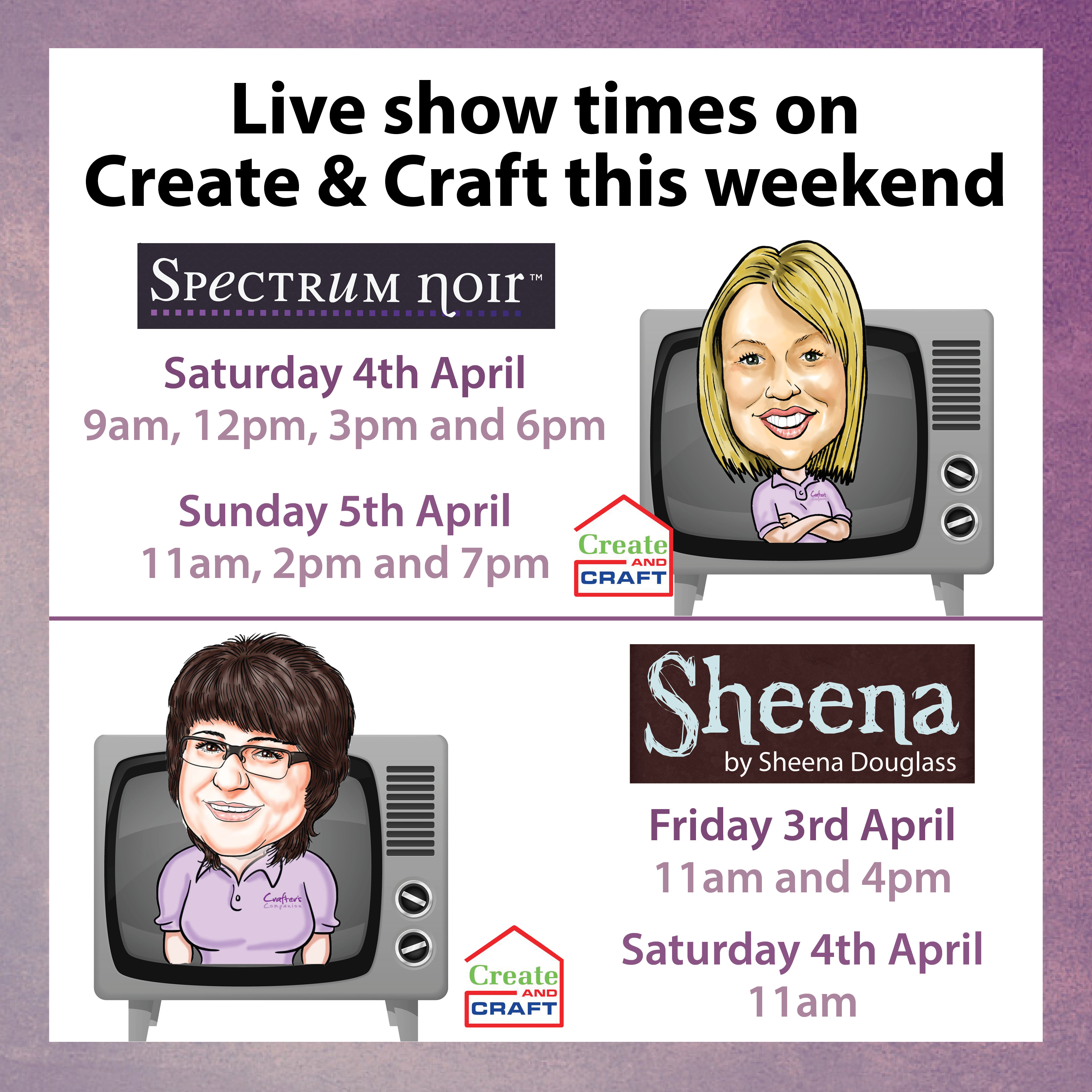 C&C Easter show times