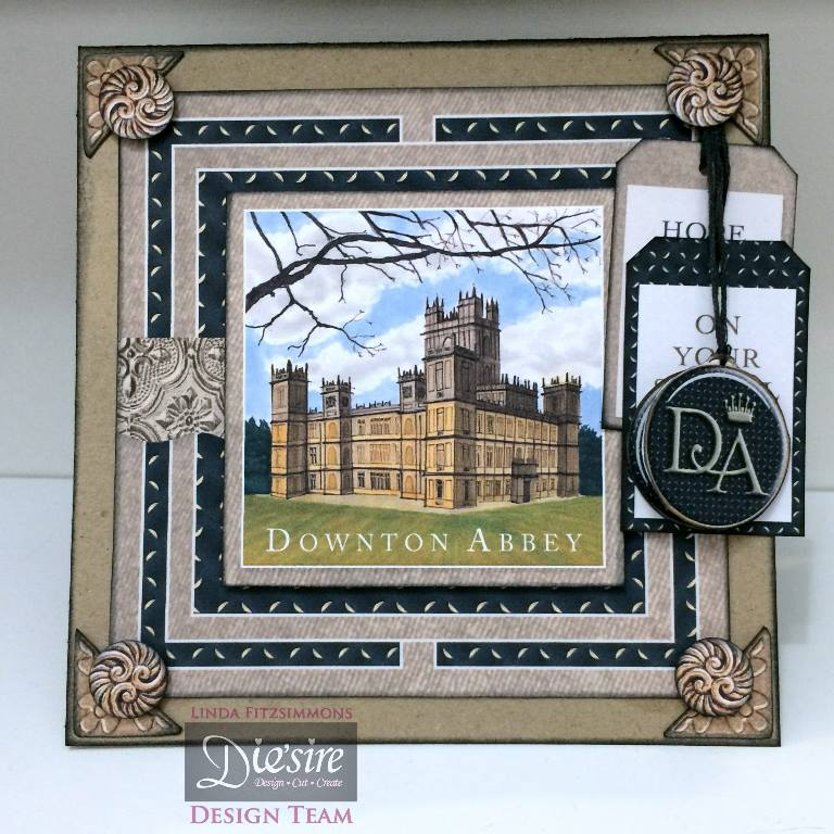 Downton Abby Papercrafting Collection Downton Abby Cutting Die DA-MD-DA