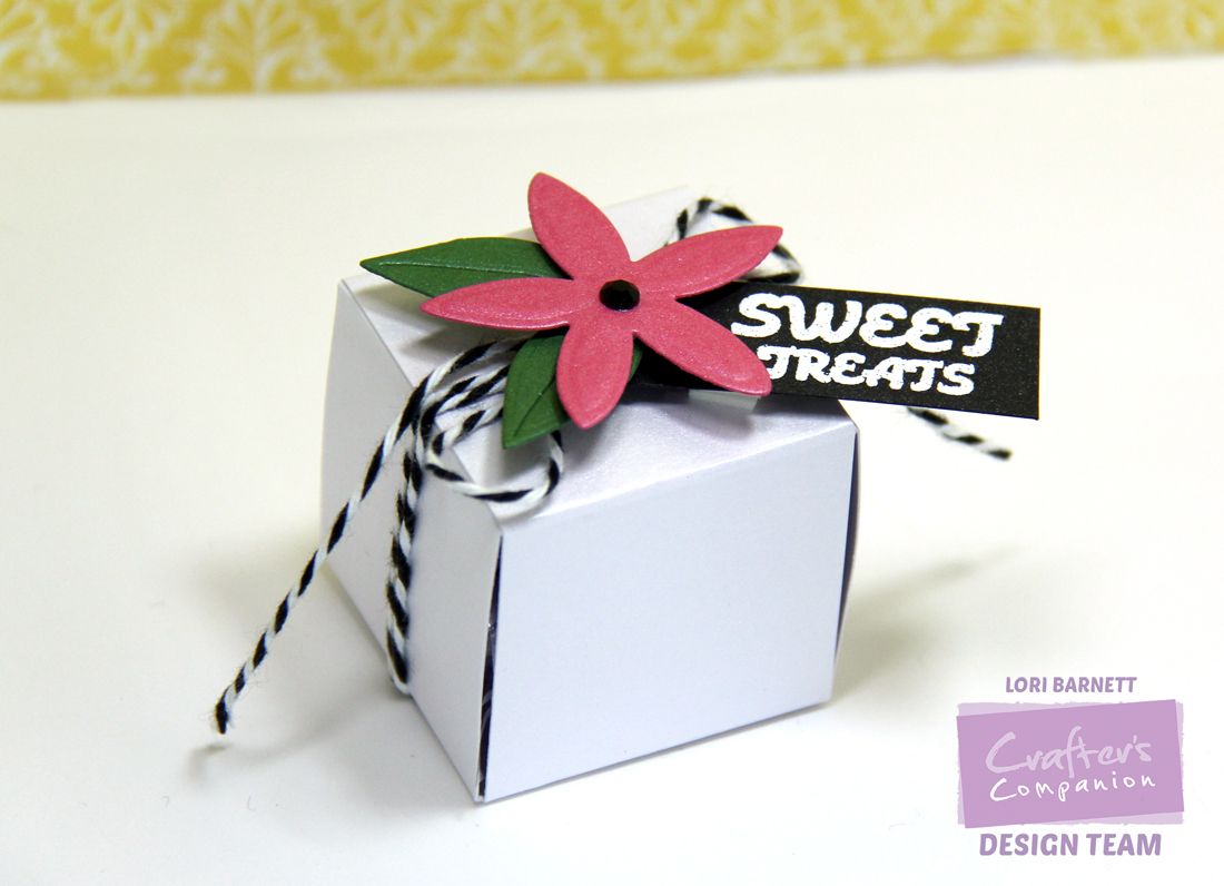 Sweet Treats Cube Finished Project Lori Barnett Watermarked
