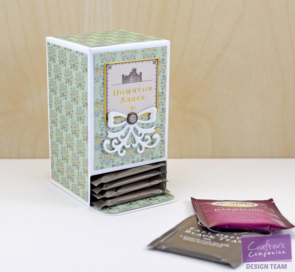 Downton Abbey Tea Bag Holder by Annie Williams - WM
