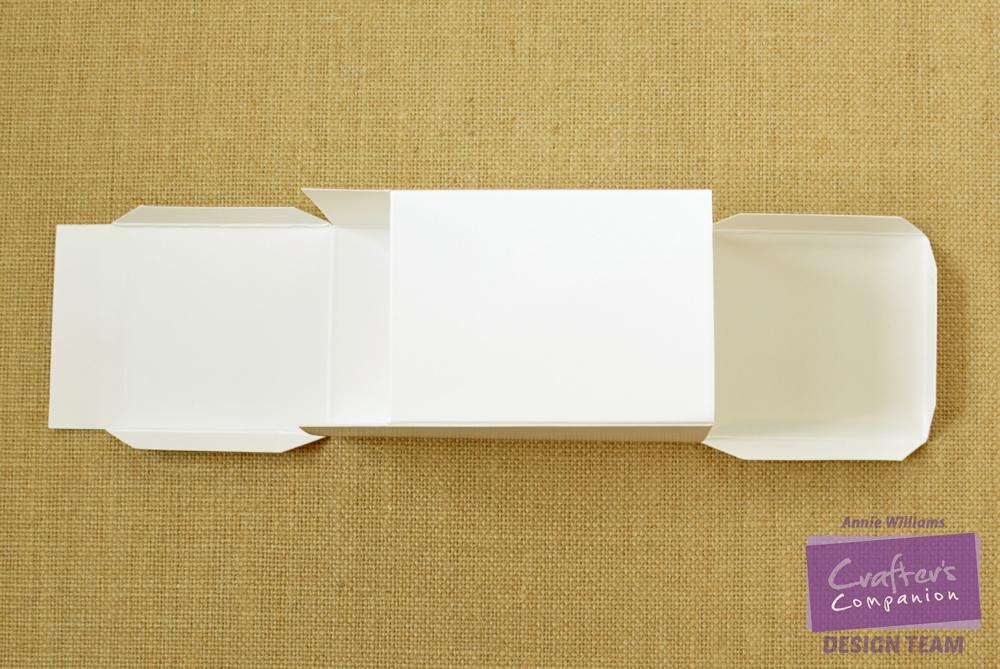 Step 7 - Downton Abbey Tea Bag Dispenser by Annie Williams, Folding