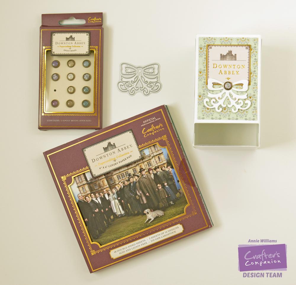 Step 9 - Downton Abbey Tea Bag Dispenser by Annie Williams, Embellish