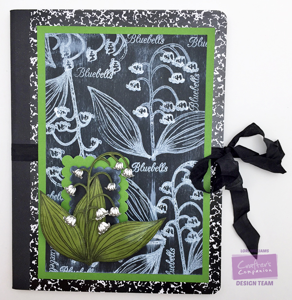 Lori Williams Finished Notebook with Tutorial and Watermakr