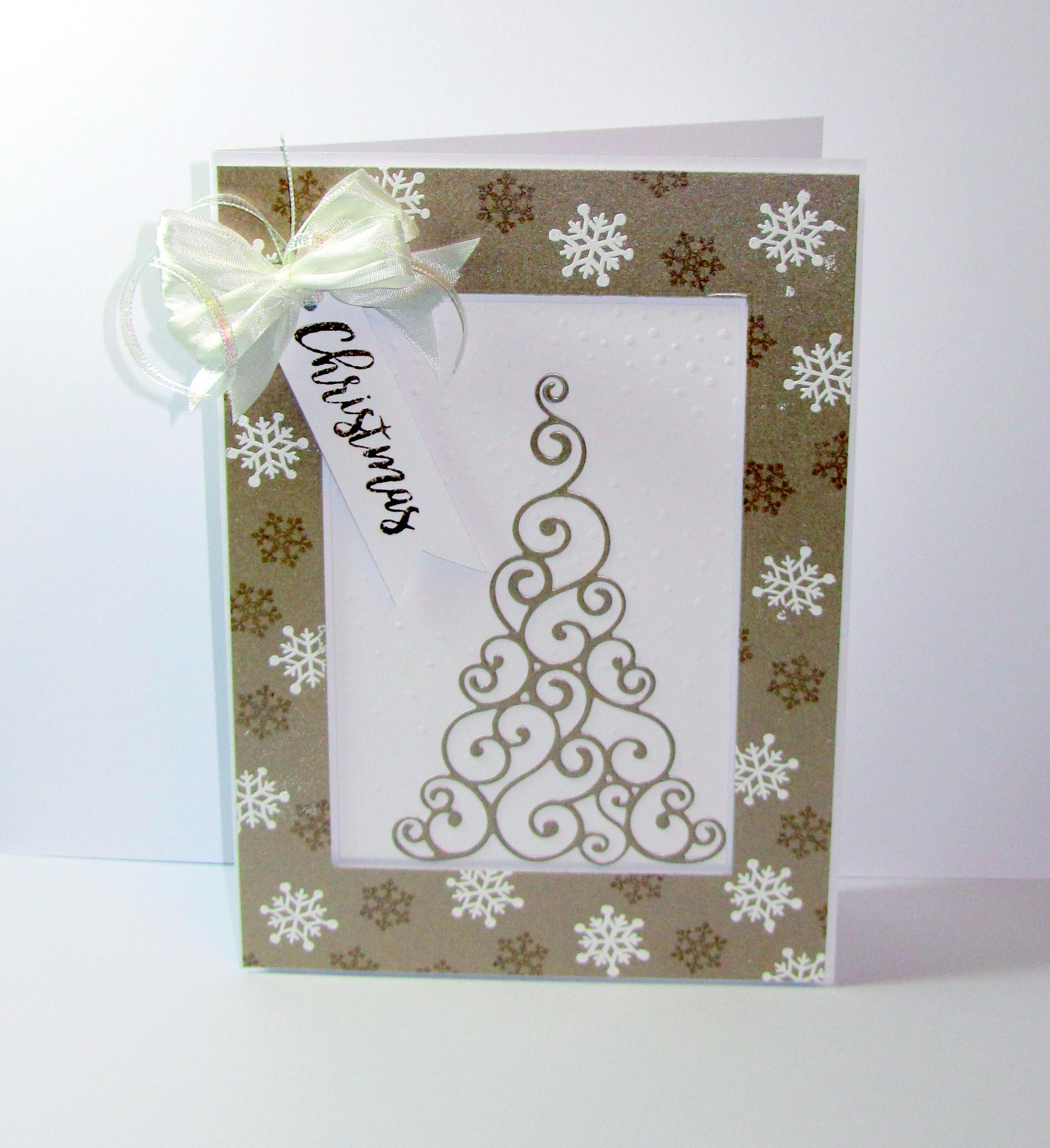 Simple and Stylish Sara Christmas Card